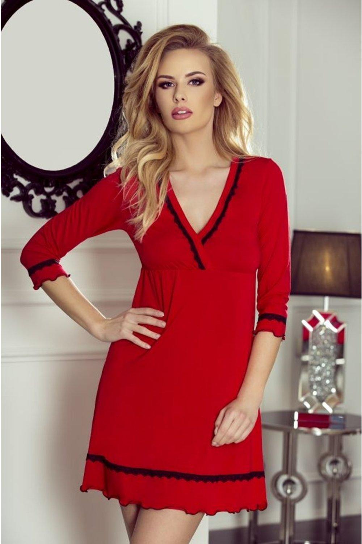 Dámska luxusná košieľka Lea red