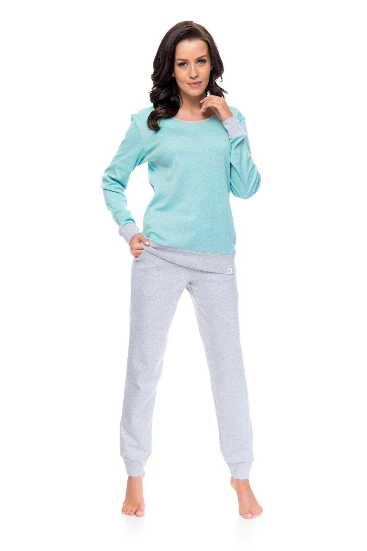 Dámske pyžamo 9102 mint-melange