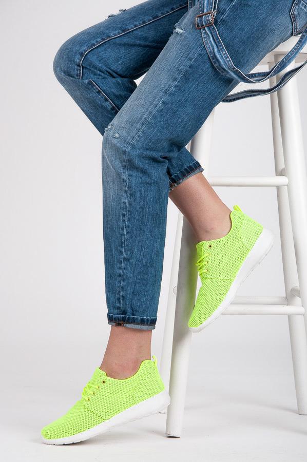 8e2ea1a2a7b2 Dokonalé dámske zelené tenisky