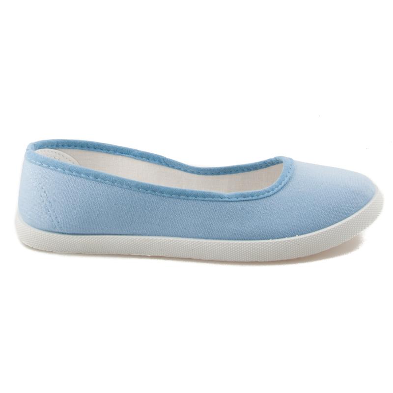 Klasické dámske modré slip on tenisky d7c02a7cc96