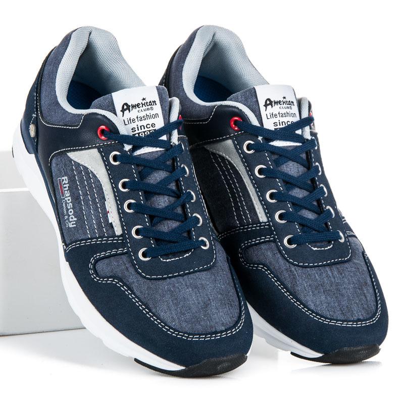 32e690011 Moderné pánske modré tenisky | AMIATEX.sk