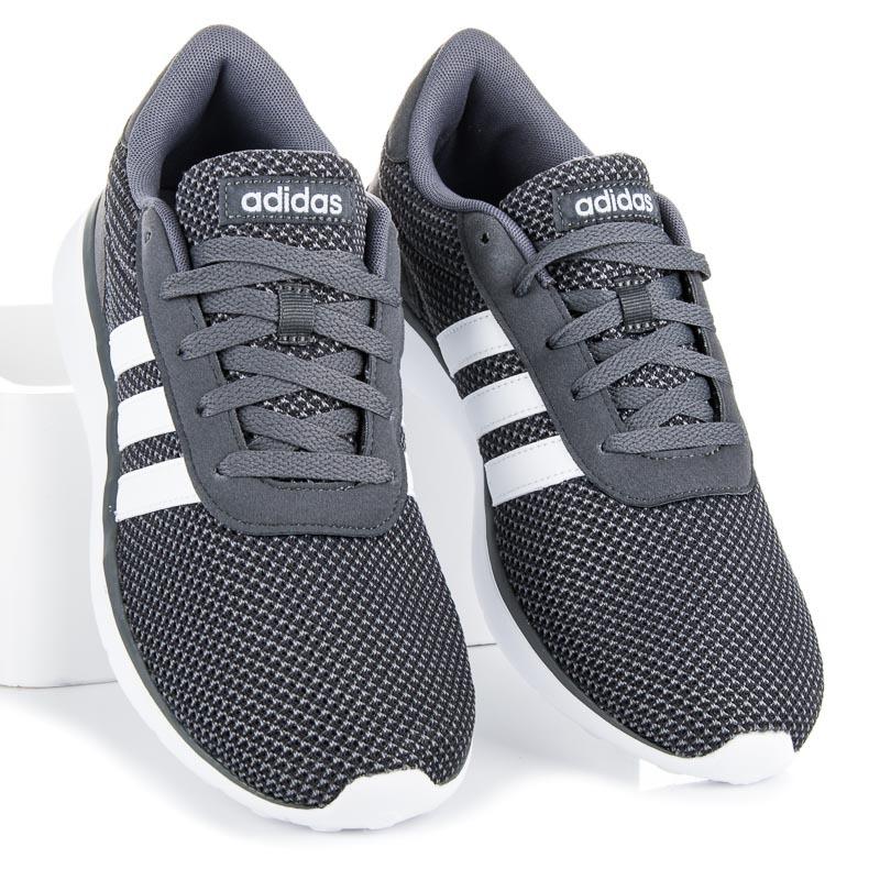 Ľahké pánske sivé tenisky Adidas  d8acc9d9d26
