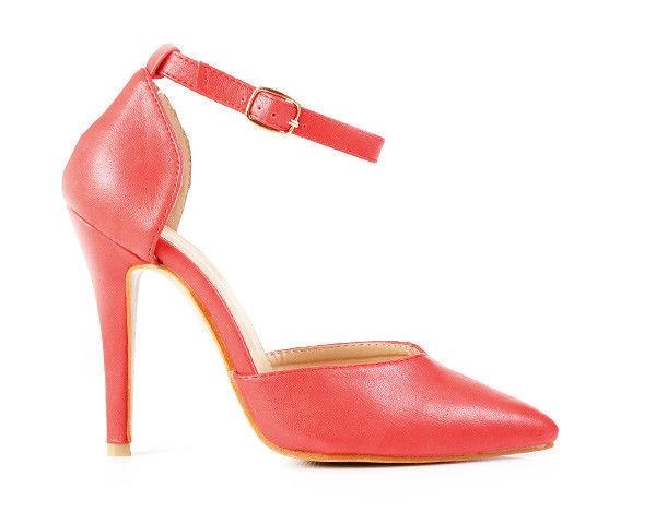 Červené originálne dámske lodičky