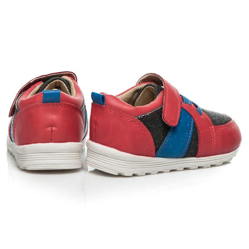 7751752898 ... Červené športové detské topánky na suchý zips