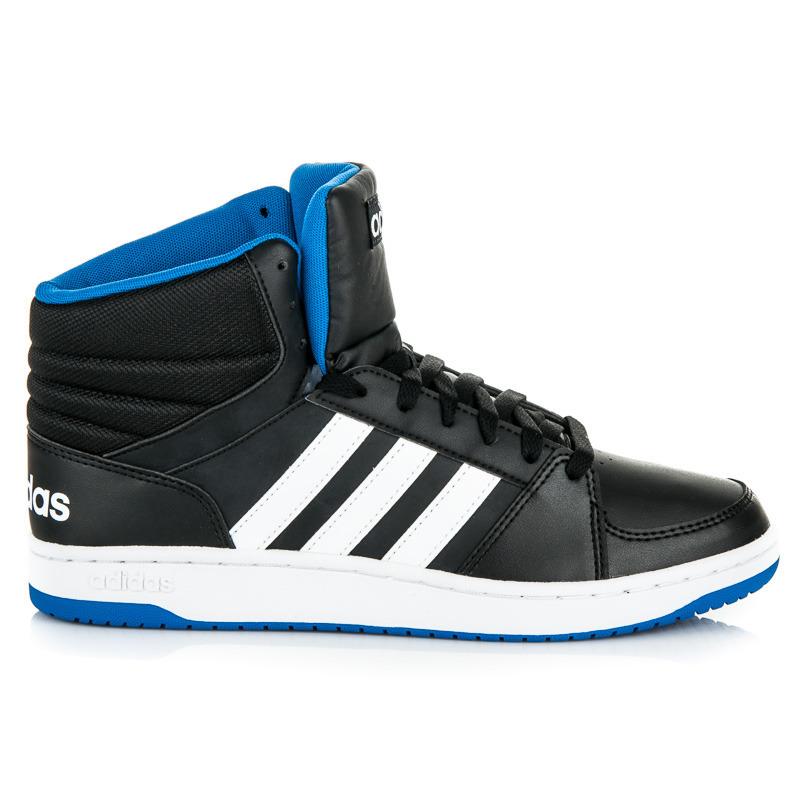 Čierne pánske členkové tenisky Adidas  7d6c88e14e9