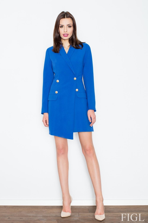 Dámska bunda M447 blue