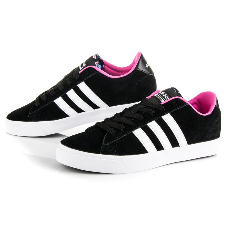 Dámske čierne športové tenisky Adidas Cloudfoam Daily QT  e380c93ae0