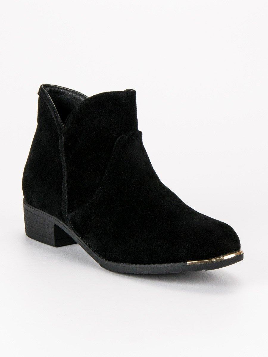 Dámske členkové topánky 44735