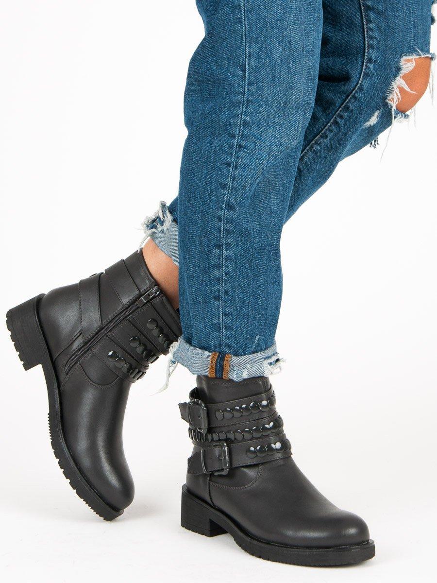 Dámske členkové topánky 46281