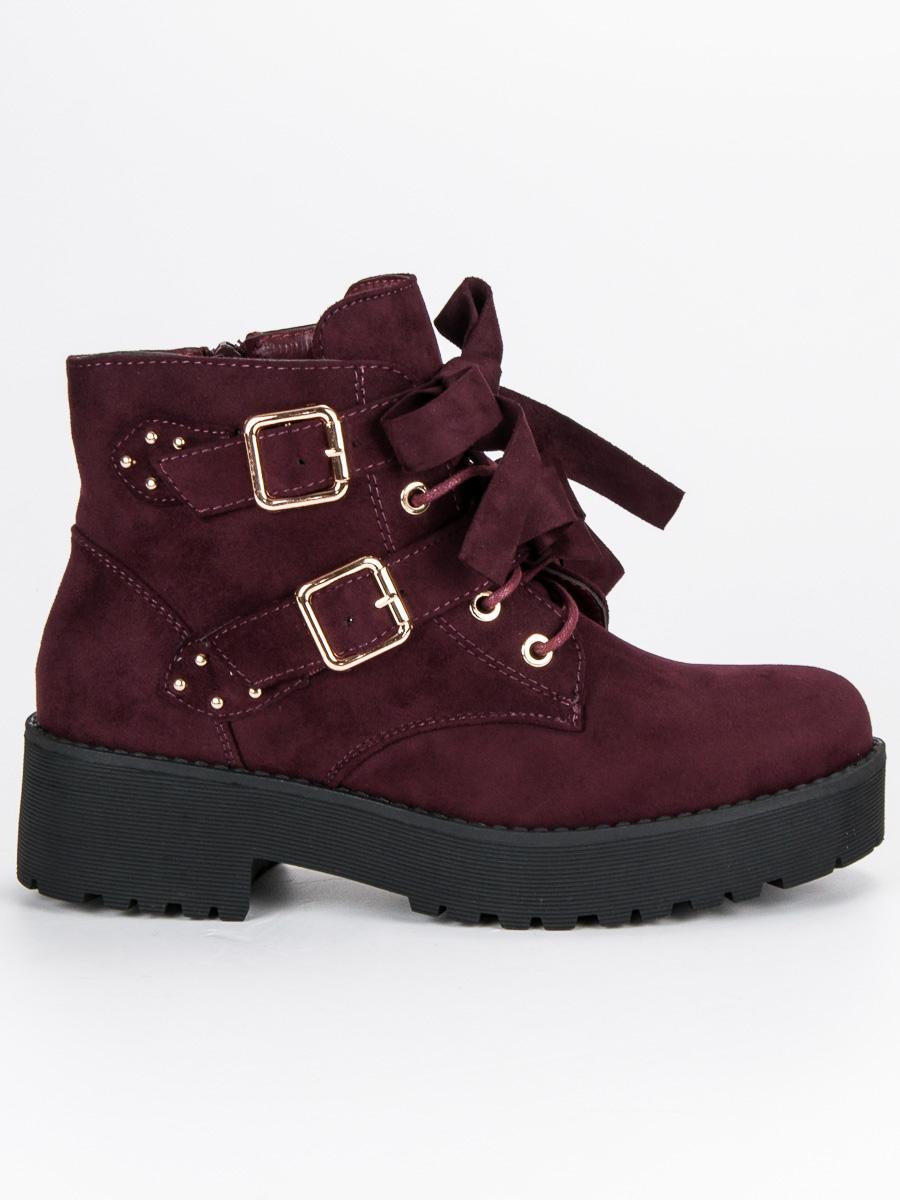 Dámske členkové topánky 46716
