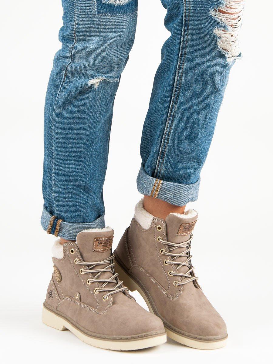 Dámske členkové topánky 48670