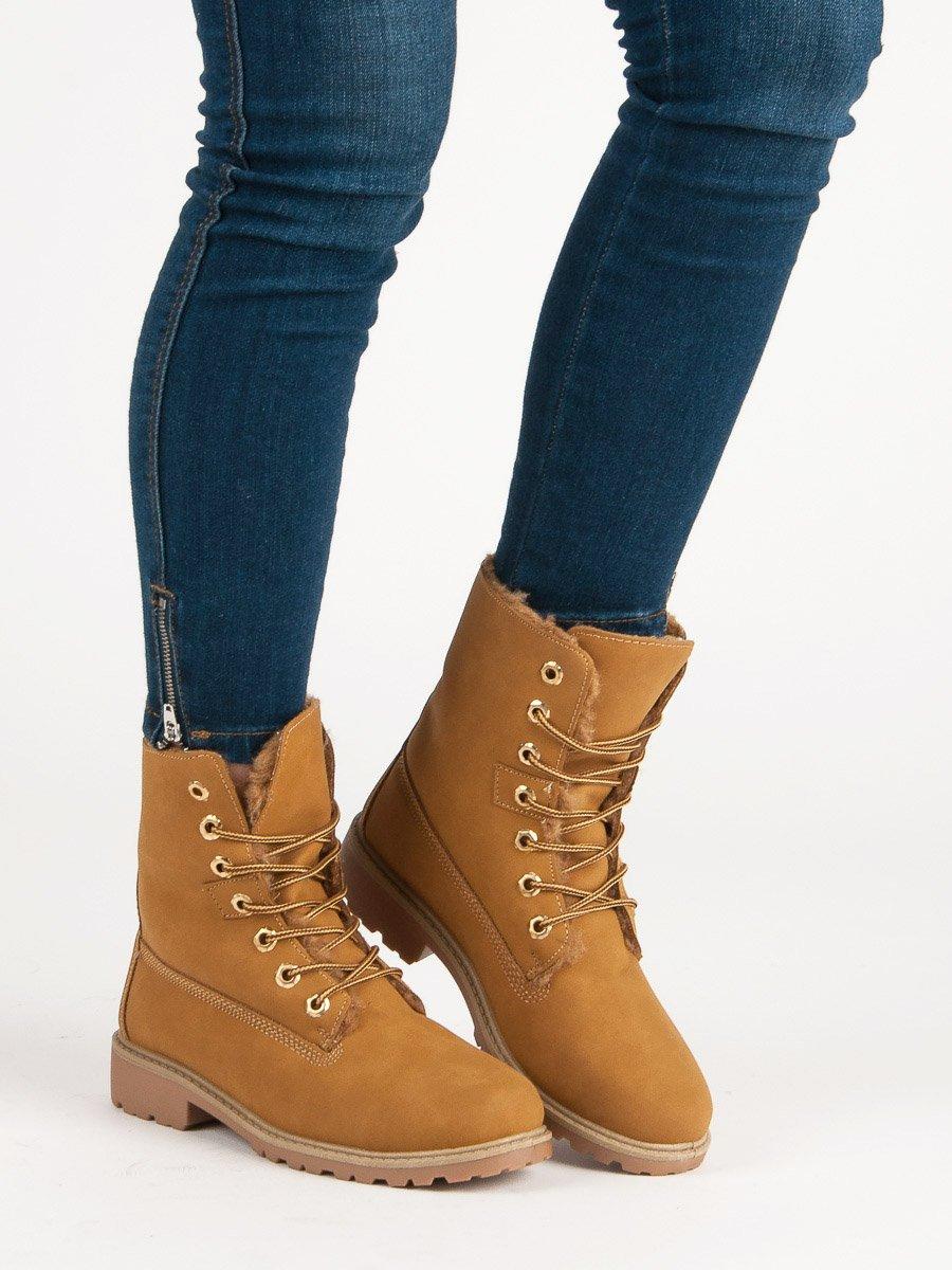 Dámske členkové topánky 49895