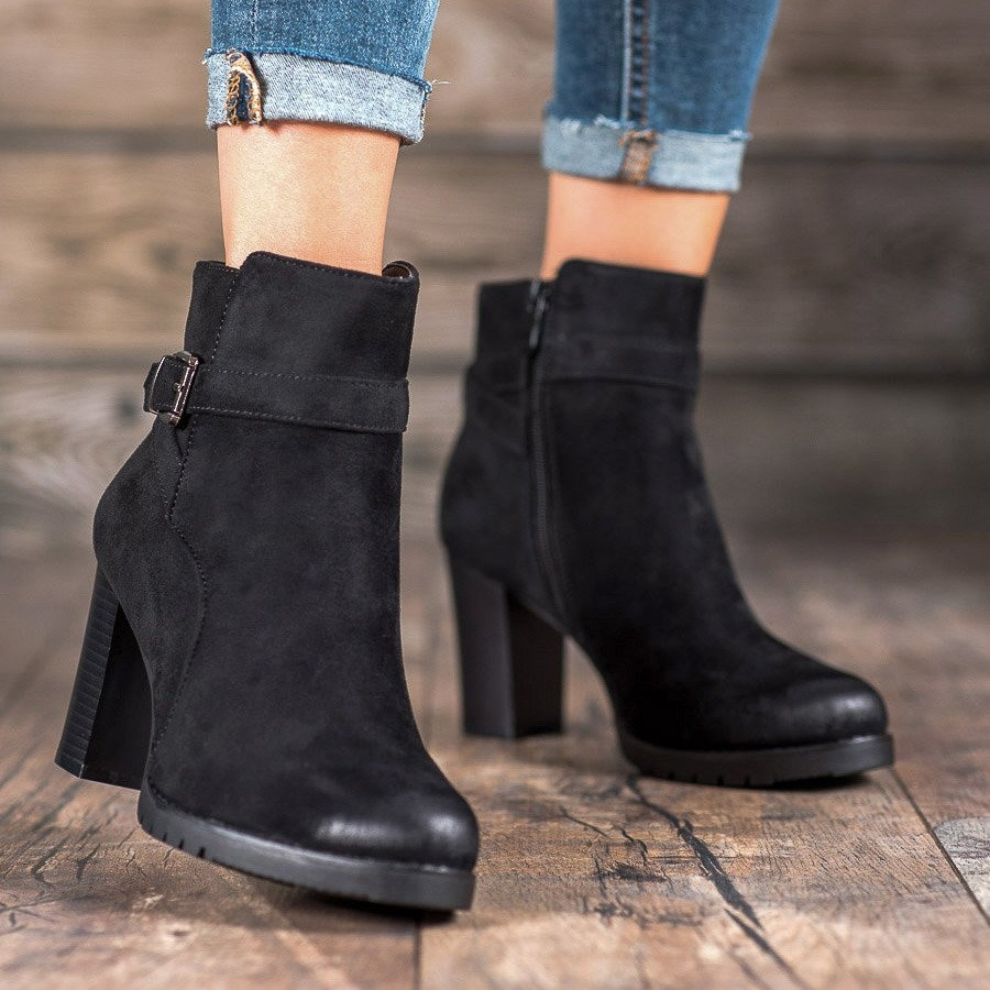 Dámske členkové topánky 58569