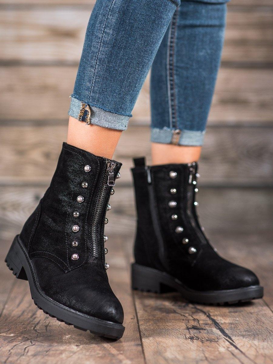 Dámske členkové topánky 58573