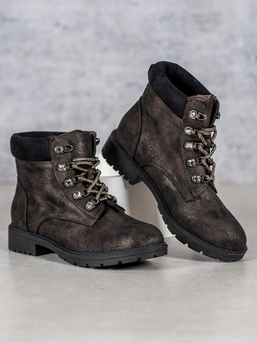 Dámske členkové topánky 59032