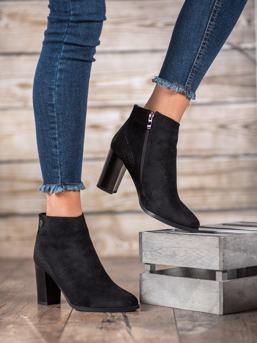 Dámske členkové topánky 59209