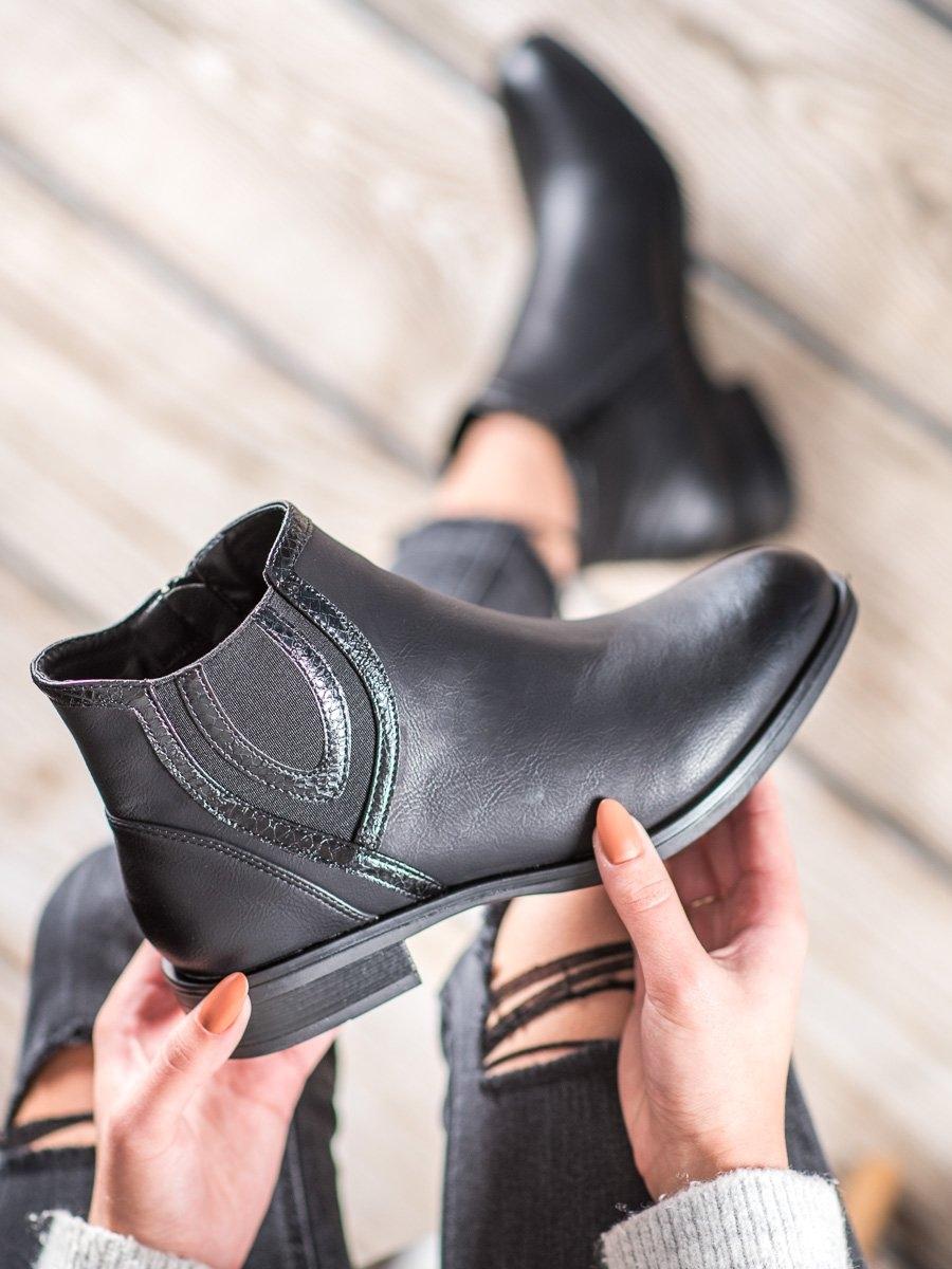Dámske členkové topánky 60389