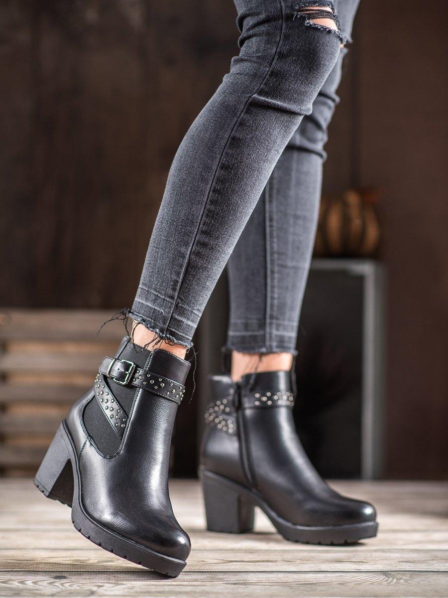 Dámske členkové topánky 60393