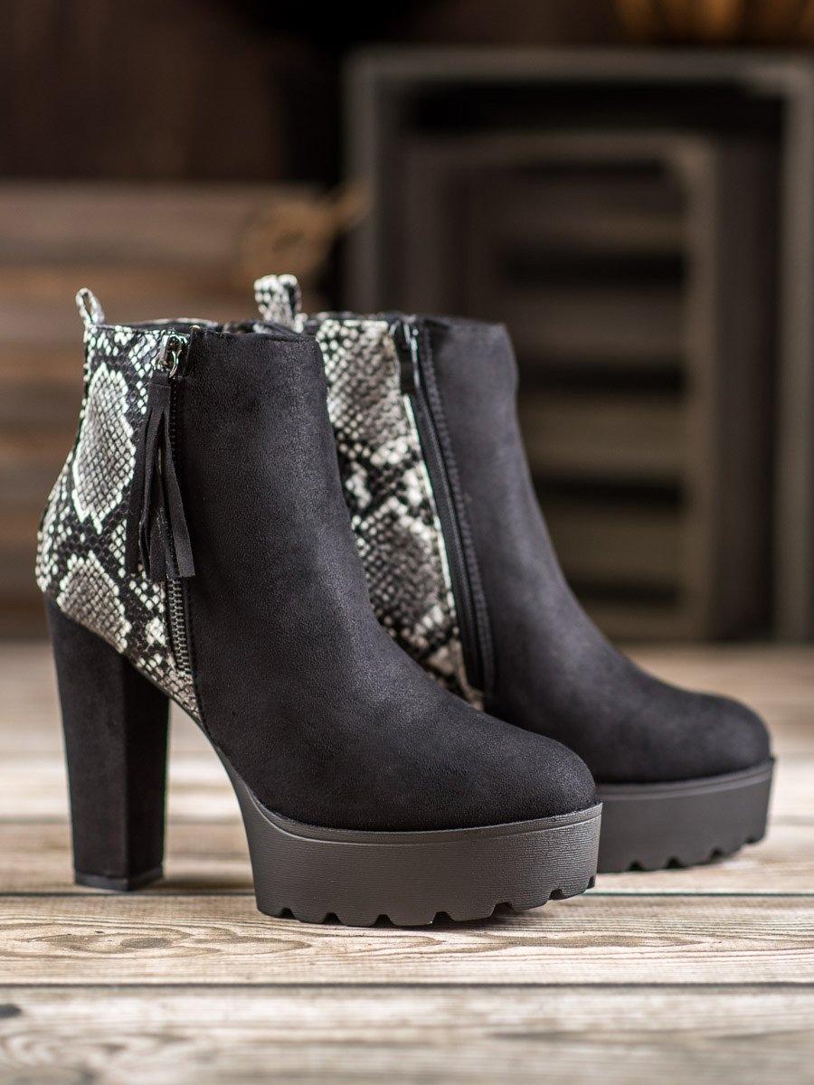 Dámske členkové topánky 60394