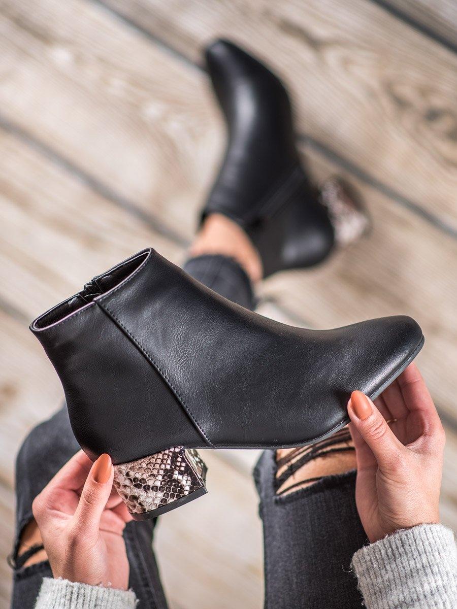 Dámske členkové topánky 60414