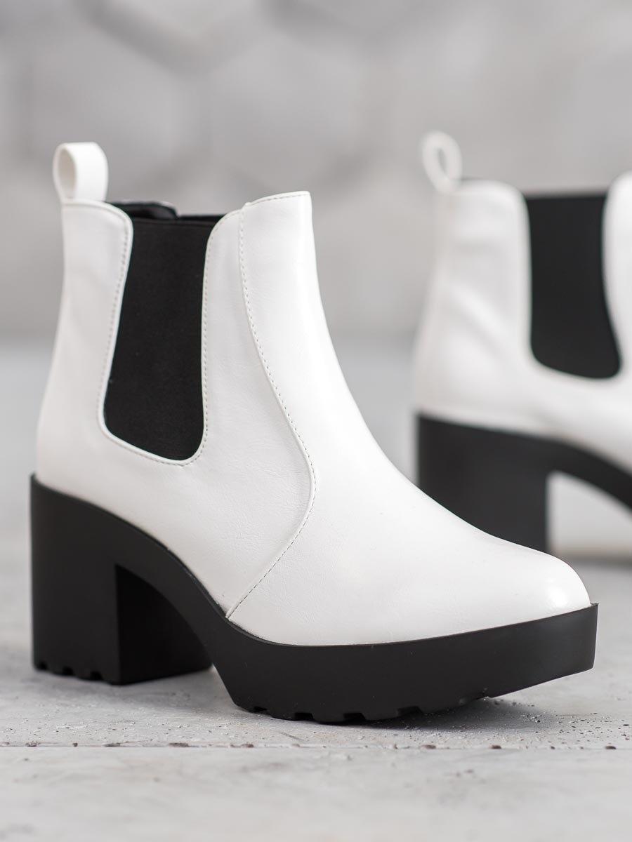 Dámske členkové topánky 60460