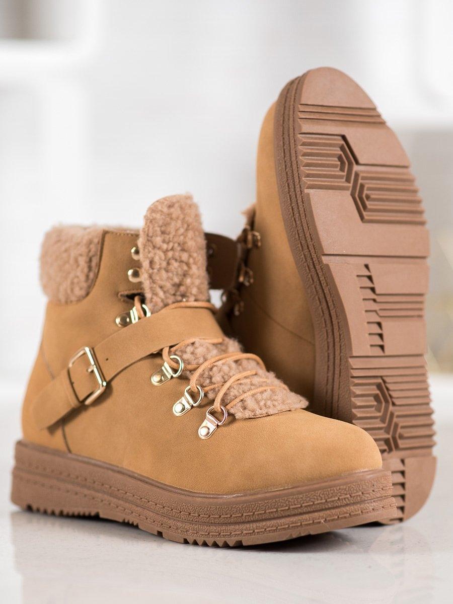 Dámske členkové topánky 61141