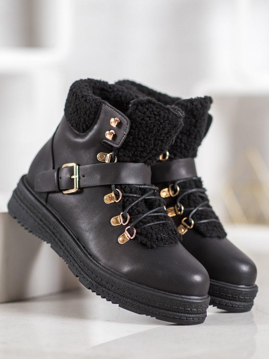 Dámske členkové topánky 61146