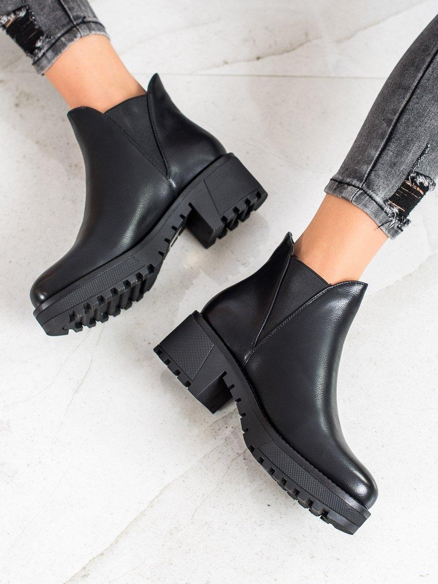 Dámske členkové topánky 67818