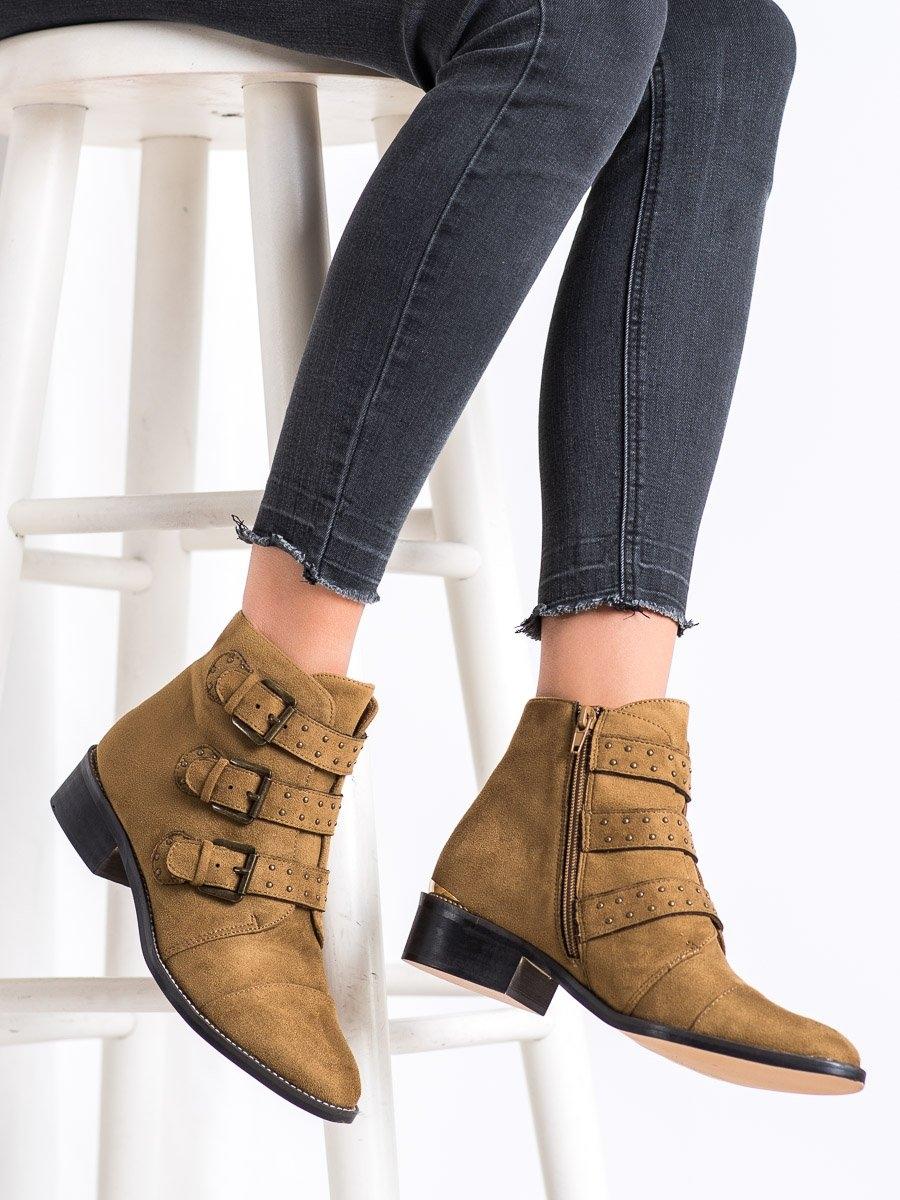 Dámske členkové topánky 67993