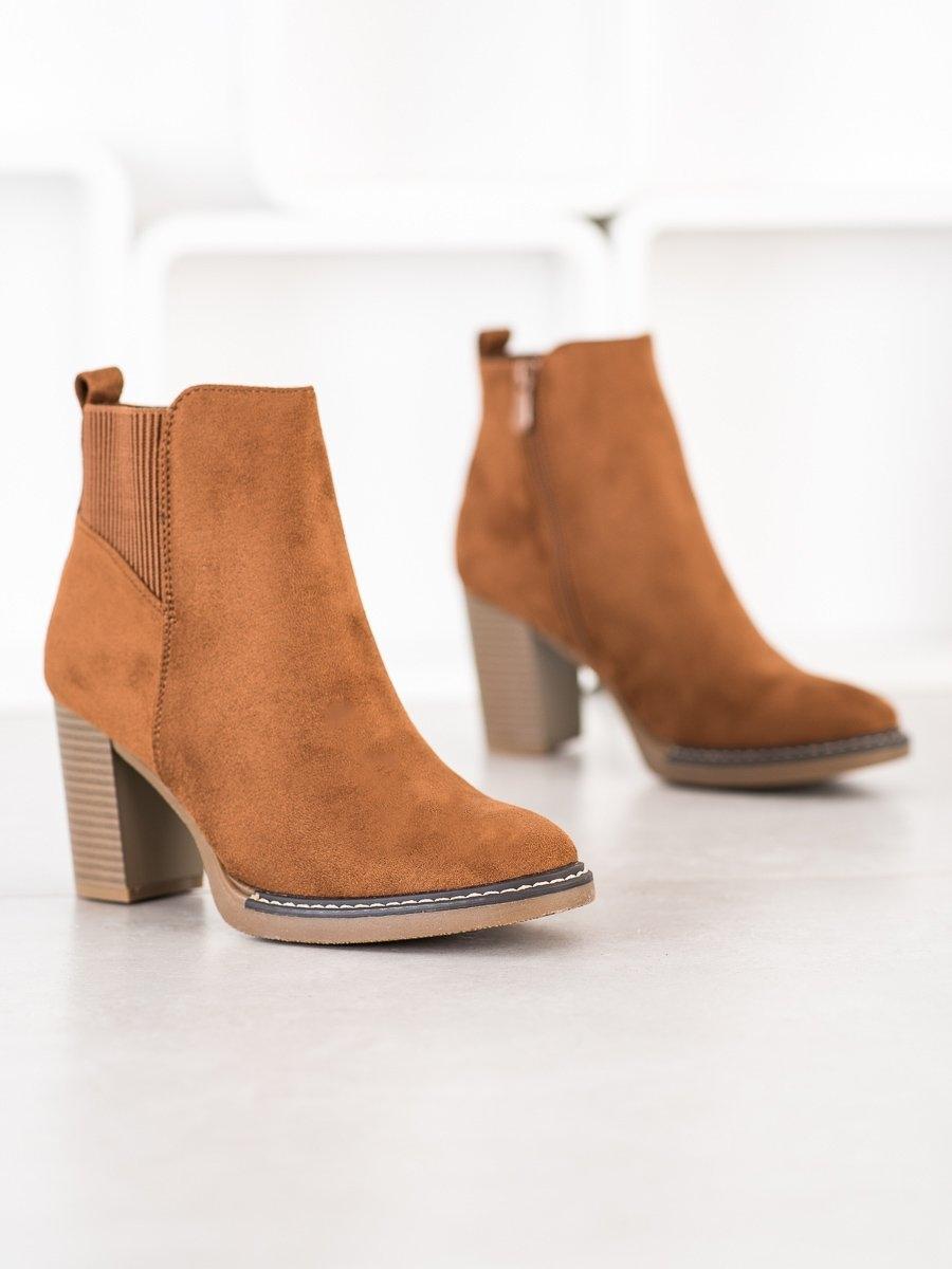 Dámske členkové topánky 68538