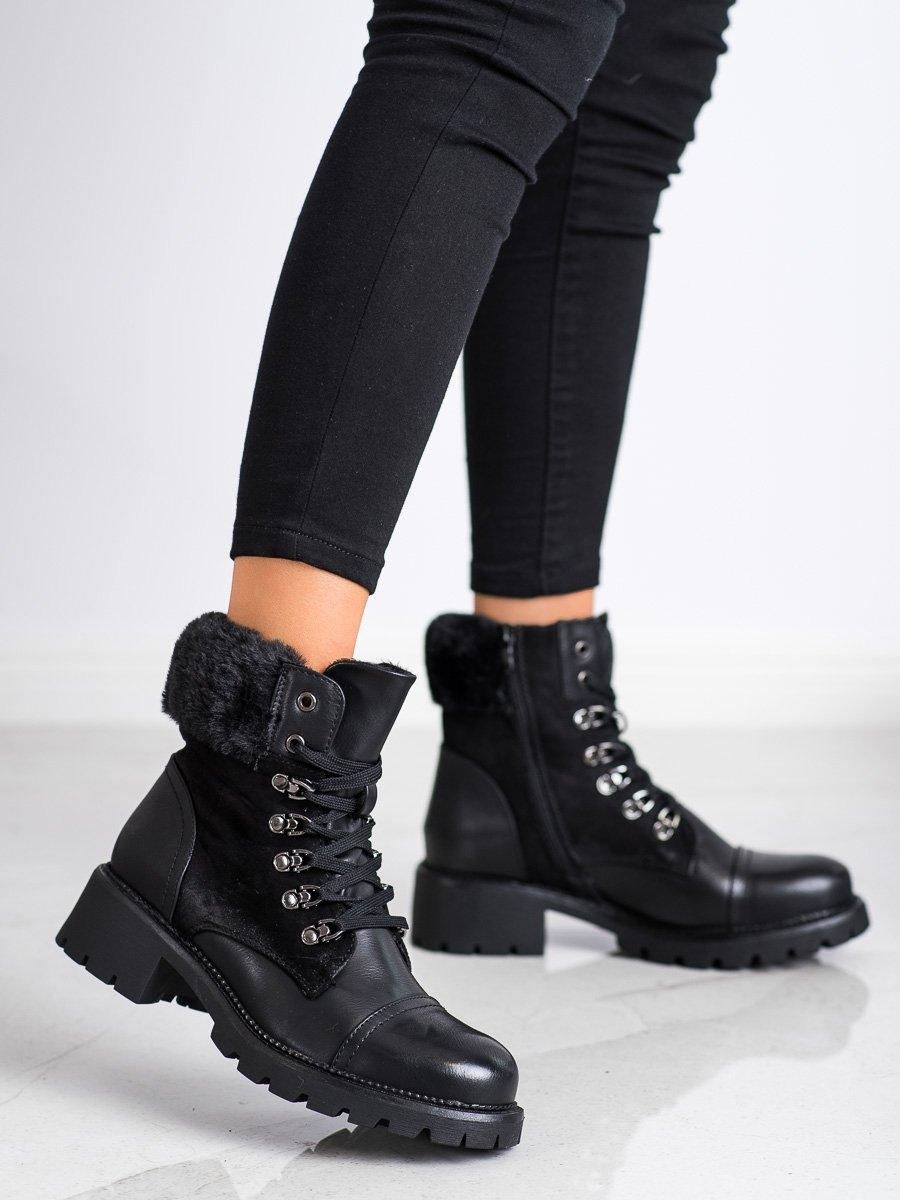 Dámske členkové topánky 68598