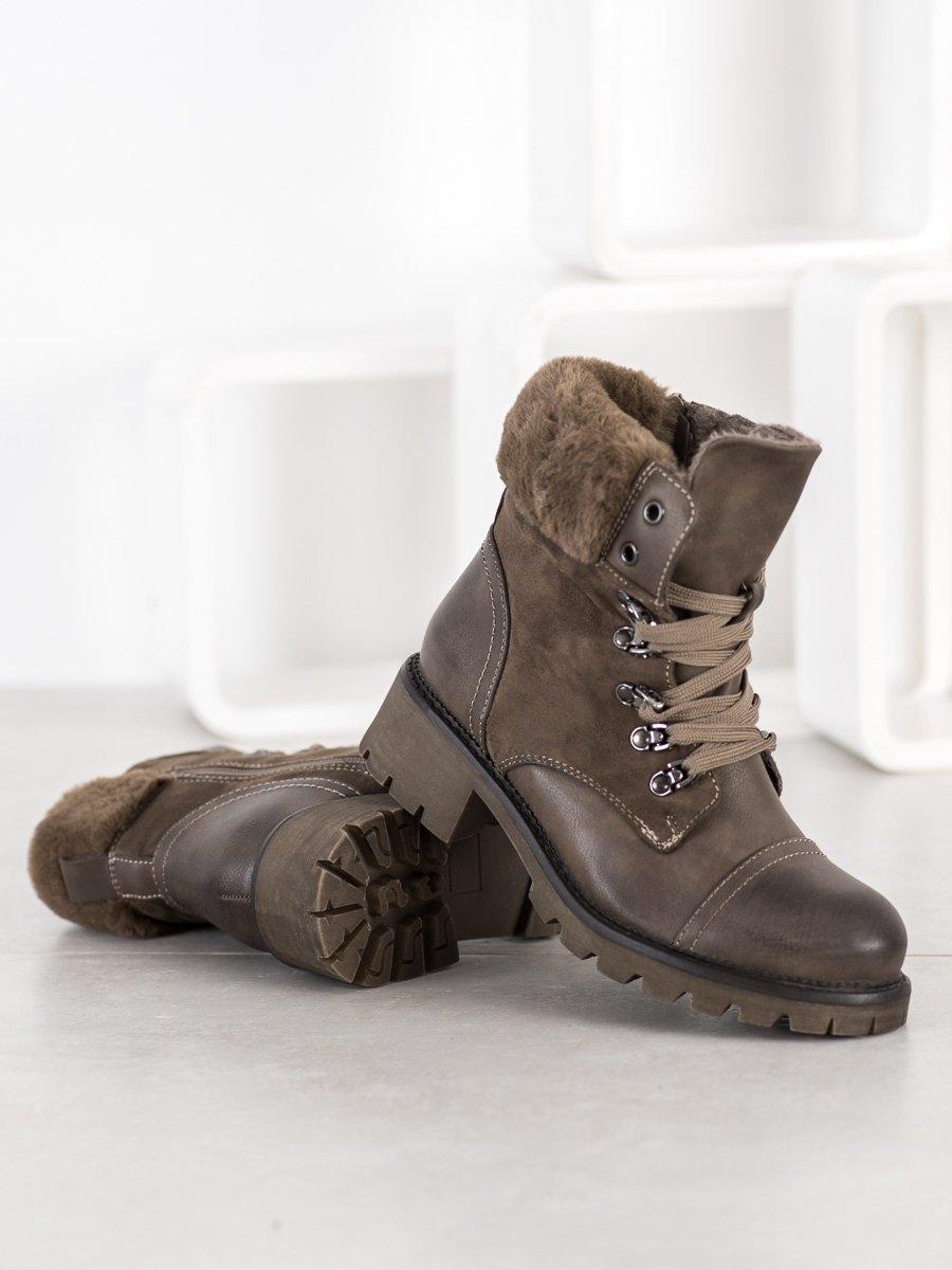 Dámske členkové topánky 68599