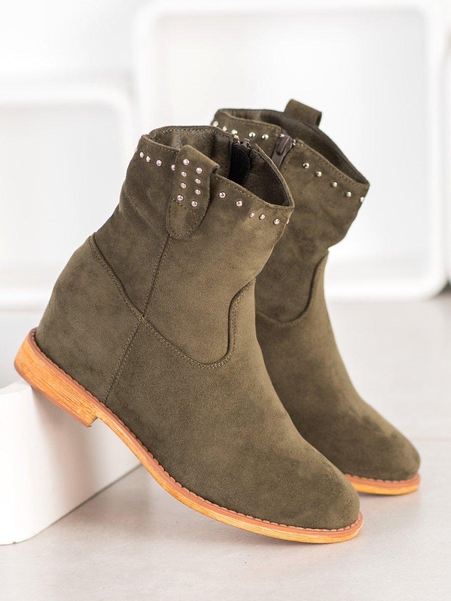 Dámske členkové topánky 68819