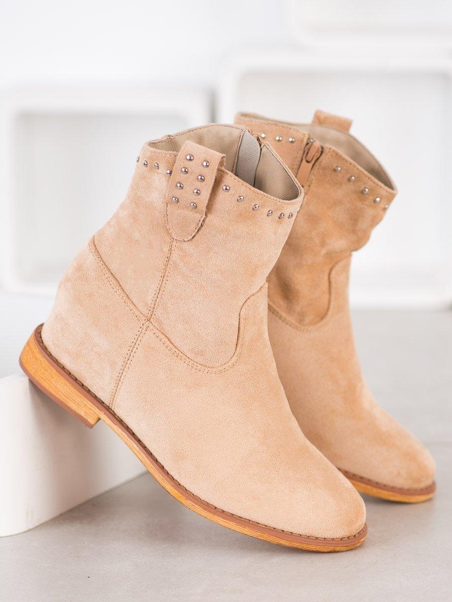 Dámske členkové topánky 68820