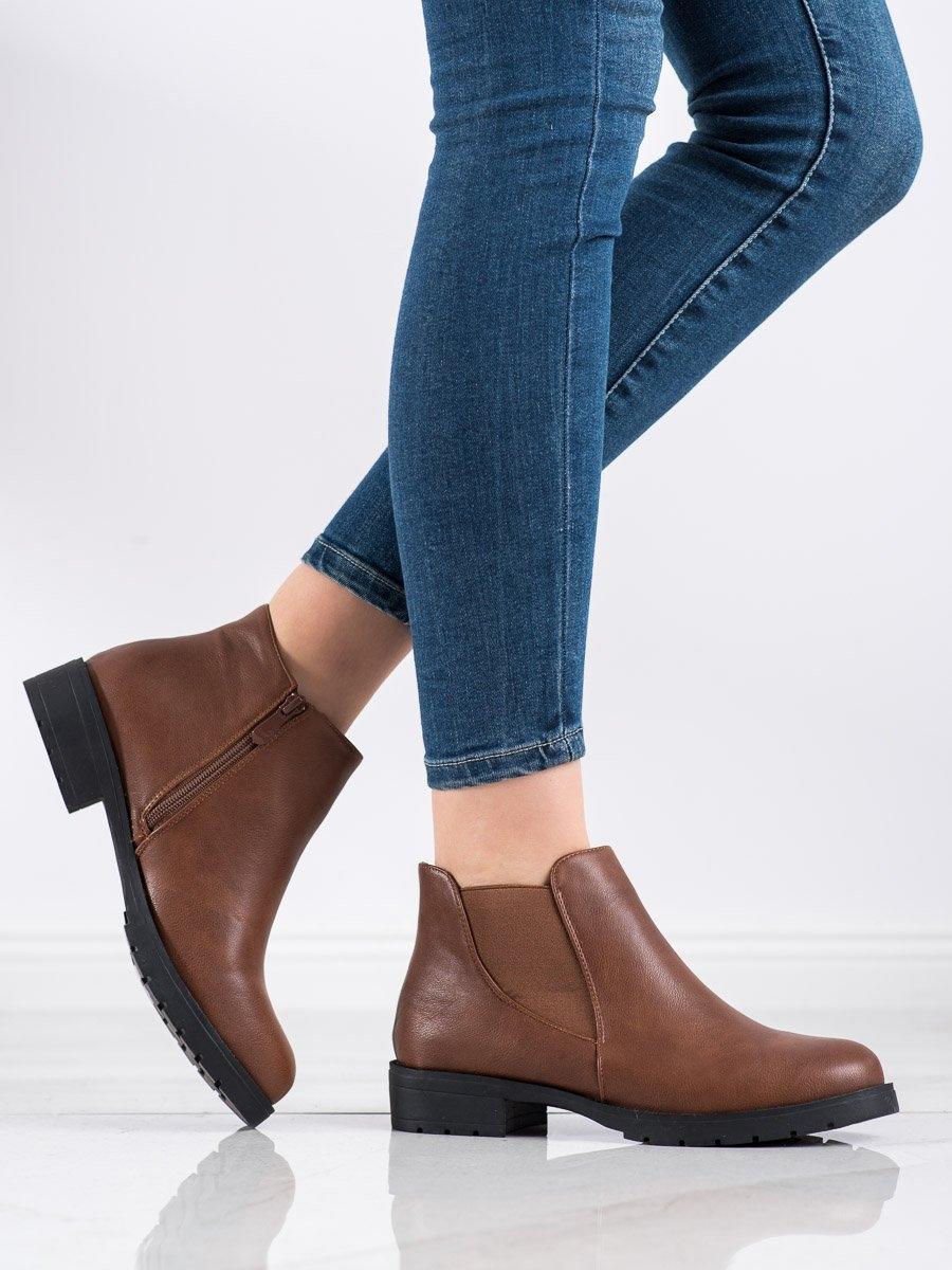 Dámske členkové topánky 69050