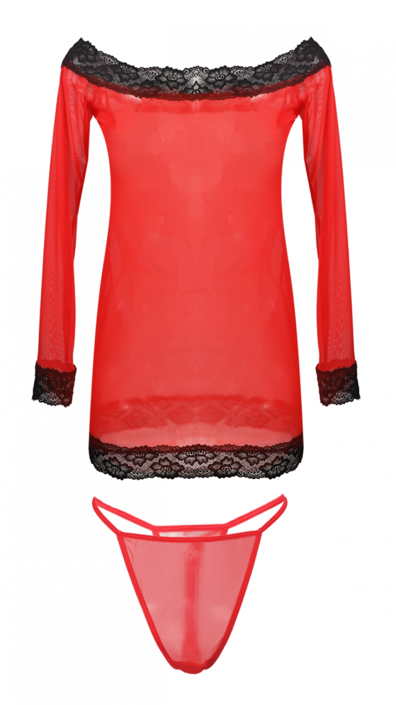 Dámske erotické šaty Ashley red