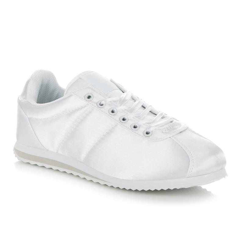 Dámske pohodlné biele tenisky na platforme  cc3740c866f