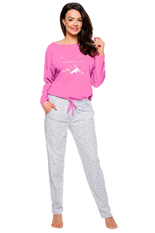 Dámske pyžamo 1190 Nadia pink