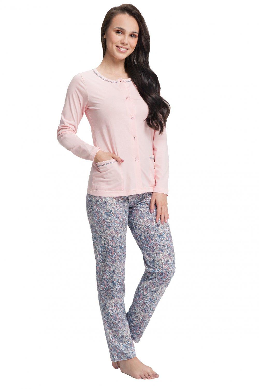 Dámske pyžamo 505 pink