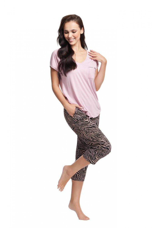Dámske pyžamo 579 pink
