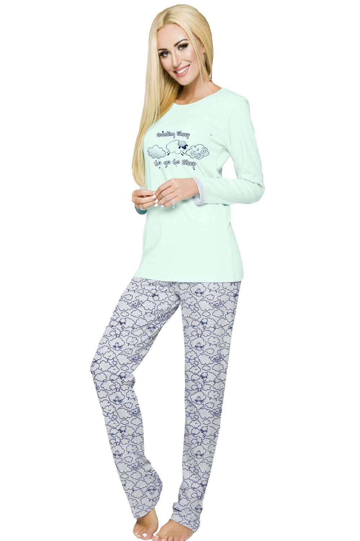 Dámske pyžamo Renata 885 mint