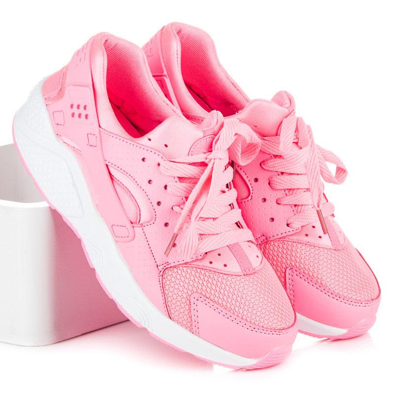 47ffba4585ec Dámske ružové tenisky pre šport a pre každý deň