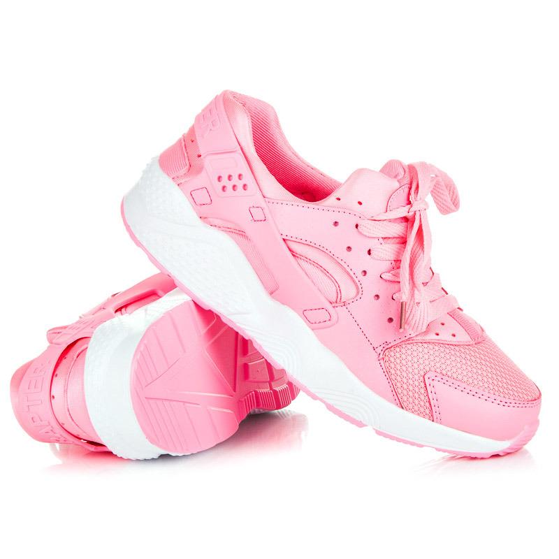 6e73950311bf ... Dámske ružové tenisky pre šport a pre každý deň ...