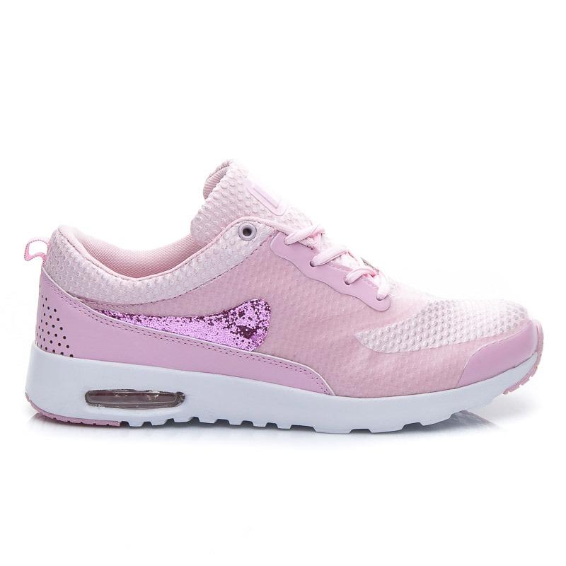 Dámske ružové tenisky pre sport