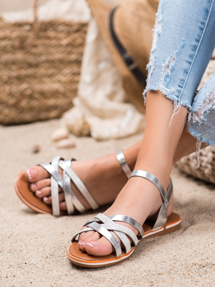 Dámske sandále 66178