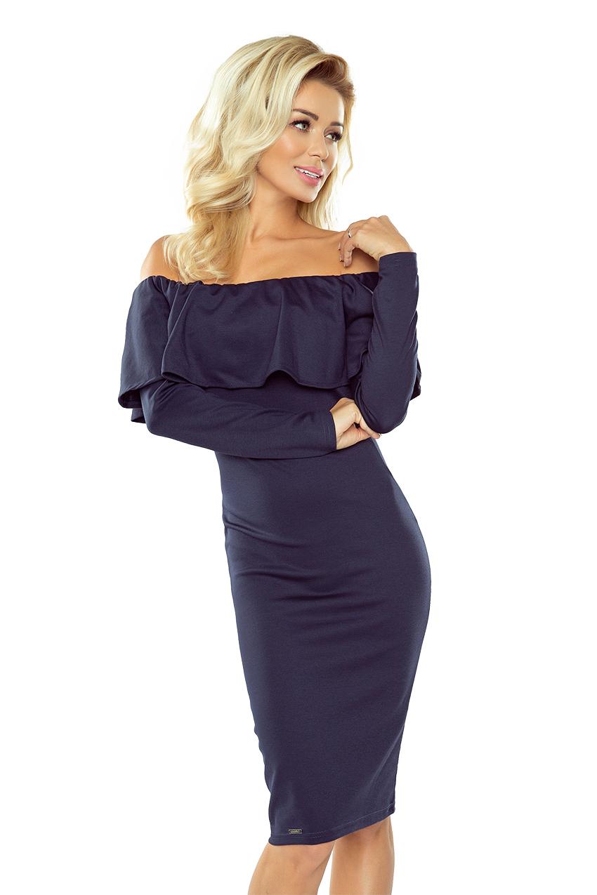 Dámske šaty 156-1 blue