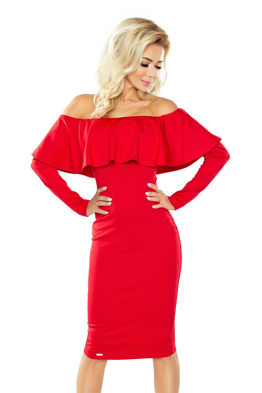 Dámske šaty 156-2 red