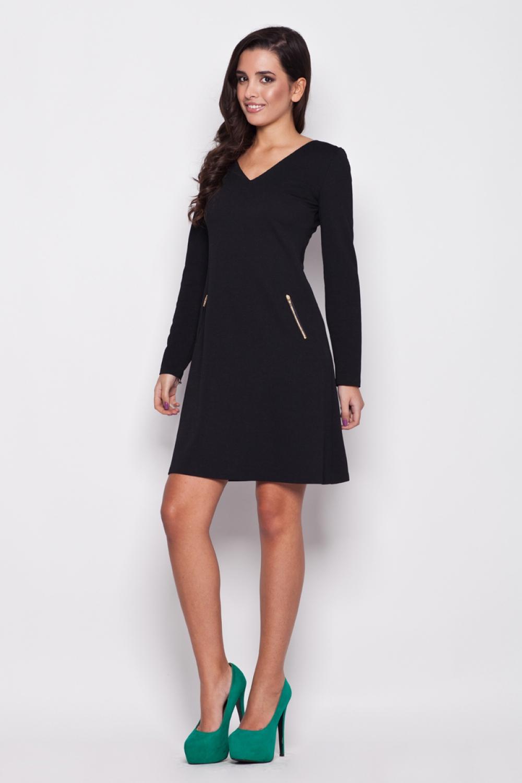 Dámske šaty K078 black