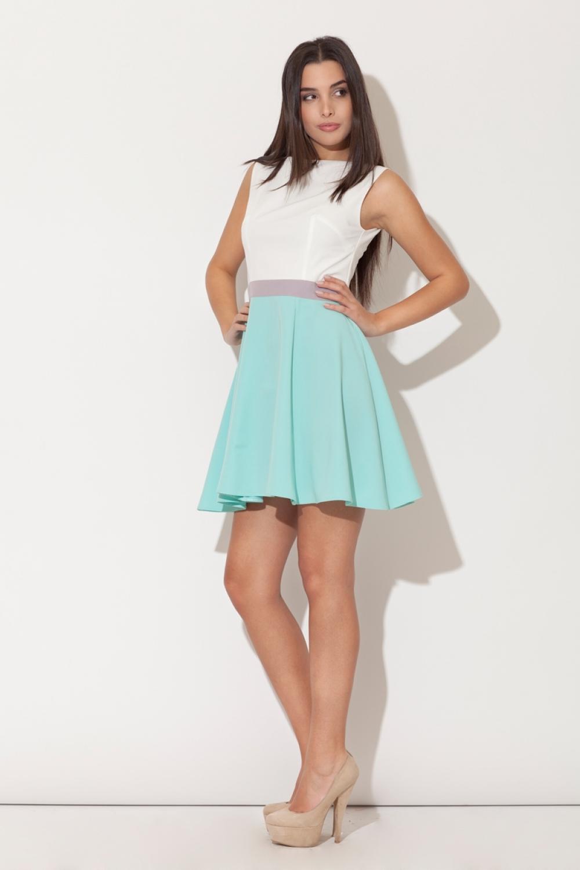 Dámske šaty K083 mint
