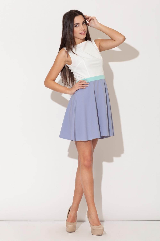 Dámske šaty K083 violet